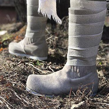 Обувь ручной работы. Ярмарка Мастеров - ручная работа Сапоги Люка Скайокера. Handmade.
