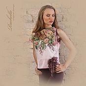 Одежда ручной работы. Ярмарка Мастеров - ручная работа Блузка Розовое утро.. Handmade.