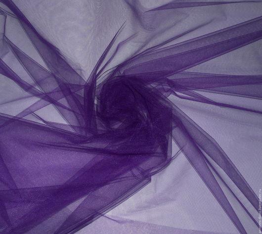 Фатин блестящий - фиолетовый цвет