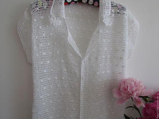 Летняя белая блузка в Уфе