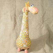 Приколы ручной работы. Ярмарка Мастеров - ручная работа Жираф керамика. Handmade.