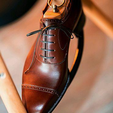 Обувь ручной работы. Ярмарка Мастеров - ручная работа Oxford от Bardella. Handmade.