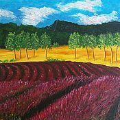 """Картины ручной работы. Ярмарка Мастеров - ручная работа Картина """"Лирика Прованса"""". Handmade."""