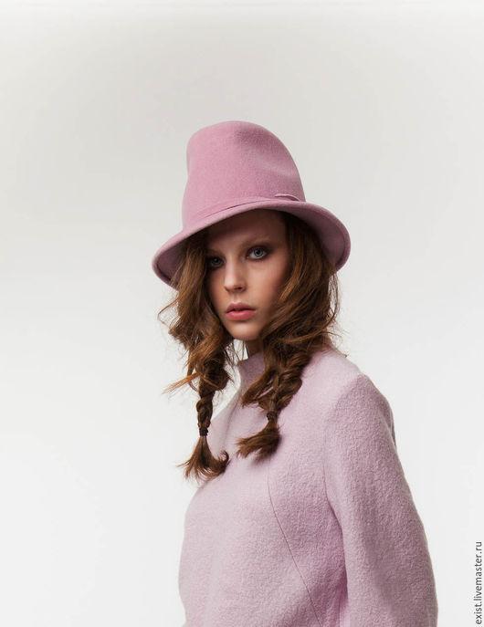Шляпы ручной работы. Ярмарка Мастеров - ручная работа. Купить Шляпа Krown. Handmade. Розовый, головной убор, модный аксессуар