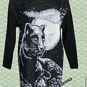 """Одежда ручной работы. Ярмарка Мастеров - ручная работа Платье""""Лунная Пантера"""". Handmade."""