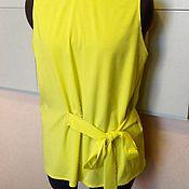 Одежда handmade. Livemaster - original item Blouse Arina / 40R,42r,44r,46R,48r,50p/ cotton. Handmade.