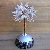 handmade. Livemaster - original item Rock crystal tree
