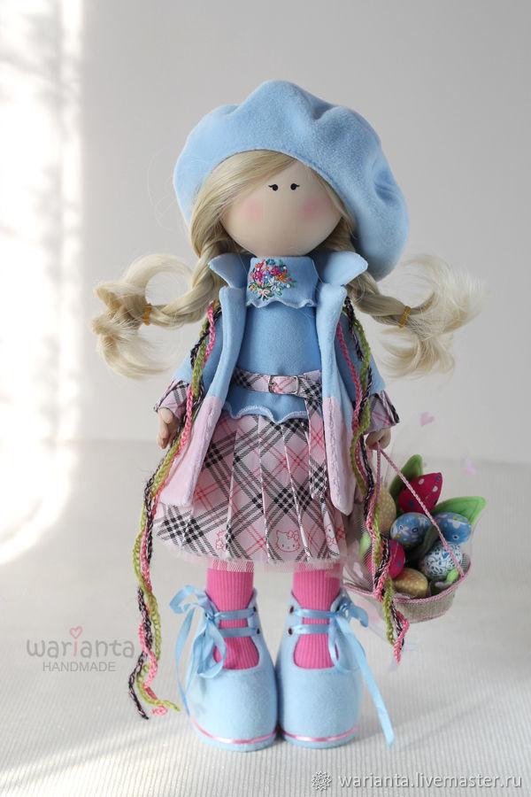 Марта. Кукла текстильная. Большеногая девочка, Куклы и пупсы, Иркутск,  Фото №1