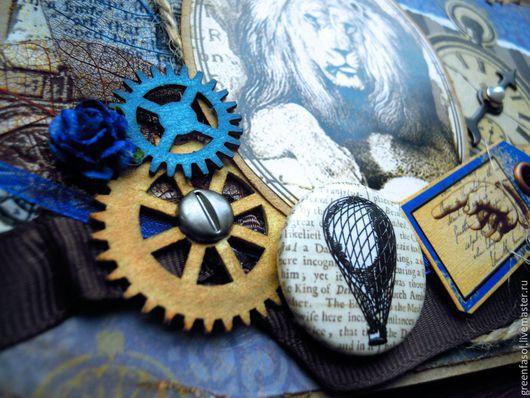 """Открытки для мужчин, ручной работы. Ярмарка Мастеров - ручная работа. Купить Мужская поздравительная открытка """"Лев"""". Handmade. Мужская открытка"""