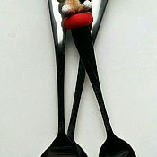 """Посуда ручной работы. Ярмарка Мастеров - ручная работа Набор """"Котики"""". Handmade."""