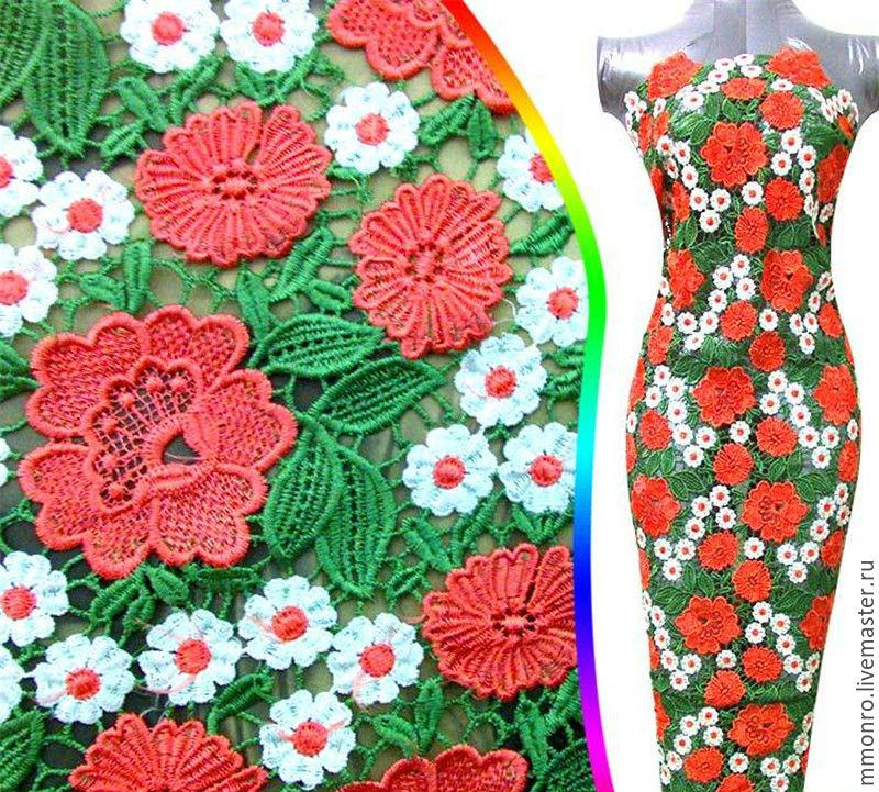 Платья из разноцветного кружева