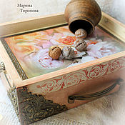 Для дома и интерьера handmade. Livemaster - original item Serving table tray