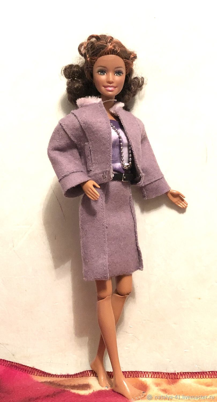 Одежда для Барби: тёплый комплект для барби, Одежда для кукол, Москва, Фото №1