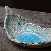 Посуда ручной работы. Ярмарка Мастеров - ручная работа Интерьерный листик. Handmade.