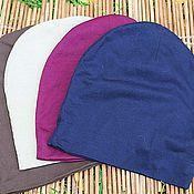 Аксессуары handmade. Livemaster - original item Hat made of cotton Jersey Unisex. Different colors.. Handmade.