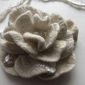 Украшения handmade. Livemaster - original item Winter morning, brooch. Handmade.