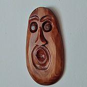 Для дома и интерьера handmade. Livemaster - original item Interior mask Surprise. Handmade.