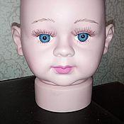 Материалы для творчества ручной работы. Ярмарка Мастеров - ручная работа Манекен- детская голова(новорожденный). Handmade.