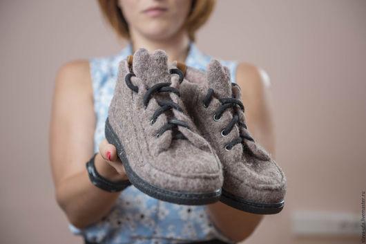 Обувь ручной работы. Ярмарка Мастеров - ручная работа. Купить Ботинки. Handmade. Обувь ручной работы, подошва тэп