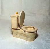handmade. Livemaster - original item The toilet for dolls. Handmade.