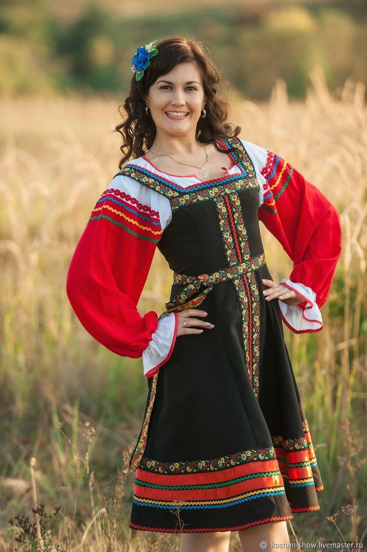 Костюм в русском стиле арт.1215, Народные костюмы, Москва,  Фото №1