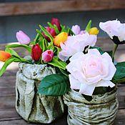 Дизайн и реклама ручной работы. Ярмарка Мастеров - ручная работа тюльпаны,цветочные композиции для интерьера. Handmade.