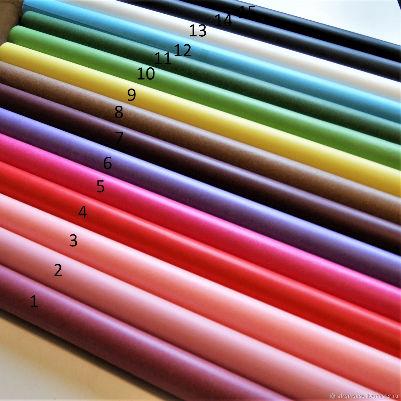 Калька цветная, тонкая бумага пергамент для упаковки, Упаковочная бумага, Москва,  Фото №1