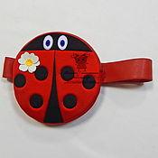 Одежда handmade. Livemaster - original item Ladi`s bug handbag. Accessories to suits. Handmade.