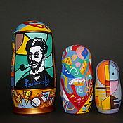 Русский стиль handmade. Livemaster - original item Matryoshka Kandinsky (option). Handmade.