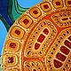 Животные ручной работы. Золотая черепаха, мирно и безмятежно плывущая в синих водах океана. Евгения Авдеева (avestore). Интернет-магазин Ярмарка Мастеров.