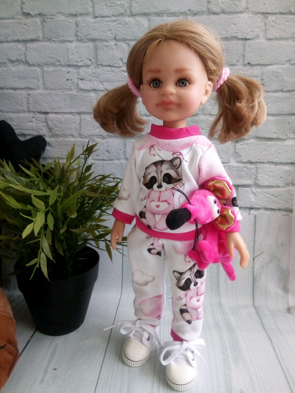 Костюмчик с енотиками для Паола Рейна, Одежда для кукол, Самара,  Фото №1