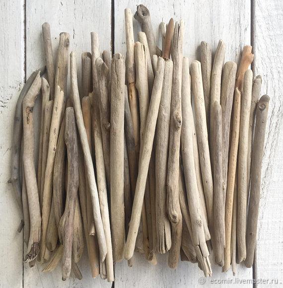 Driftwood морское дерево (большой ассортимент) 1кг, Природные материалы, Анапа,  Фото №1