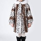 Работы для детей, handmade. Livemaster - original item Children`s natural fur coat - Mouton. Handmade.