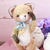 Куклы и игрушки ручной работы. Ярмарка Мастеров - ручная работа лисёнок Эрик. Handmade.