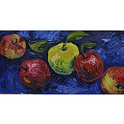 Картины и панно handmade. Livemaster - original item Pictures: Apples. Handmade.