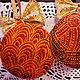 Новый год 2017 ручной работы. Заказать Елочные шары РЕТРО. Шар на елку. Елочные игрушки. Подарок на Новый год. Екатерина❤Валерина. Ярмарка Мастеров.