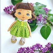 Куклы и пупсы ручной работы. Ярмарка Мастеров - ручная работа Текстильная кукла. Handmade.