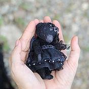 Куклы и игрушки ручной работы. Ярмарка Мастеров - ручная работа черный мишка Black star. Handmade.