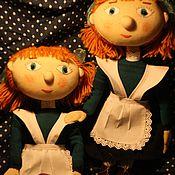 Куклы и игрушки ручной работы. Ярмарка Мастеров - ручная работа Девочки-школьницы. Handmade.
