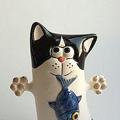 Для дома и интерьера handmade. Livemaster - original item Cats (cats-hunters series). Handmade.