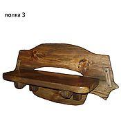 Для дома и интерьера ручной работы. Ярмарка Мастеров - ручная работа полки из состаренного дерева. Handmade.