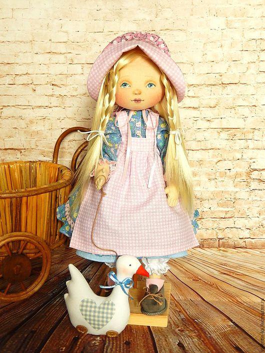 Коллекционные куклы ручной работы. Ярмарка Мастеров - ручная работа. Купить Малышка Энни. Handmade. Комбинированный, милый подарок, холлофайбер