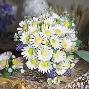 Цветы и флористика ручной работы. Ярмарка Мастеров - ручная работа Букет невесты  из ромашек. Handmade.