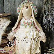 Куклы и игрушки ручной работы. Ярмарка Мастеров - ручная работа Заюшка-хозяюшка. Handmade.
