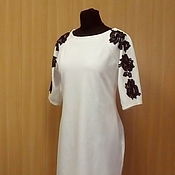 Одежда handmade. Livemaster - original item New - Jersey Dress -