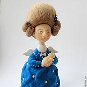 Куклы и игрушки ручной работы. Ярмарка Мастеров - ручная работа Кукла войлочная Счастье. Handmade.