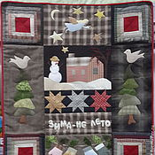 Для дома и интерьера ручной работы. Ярмарка Мастеров - ручная работа Новогоднее панно. Handmade.