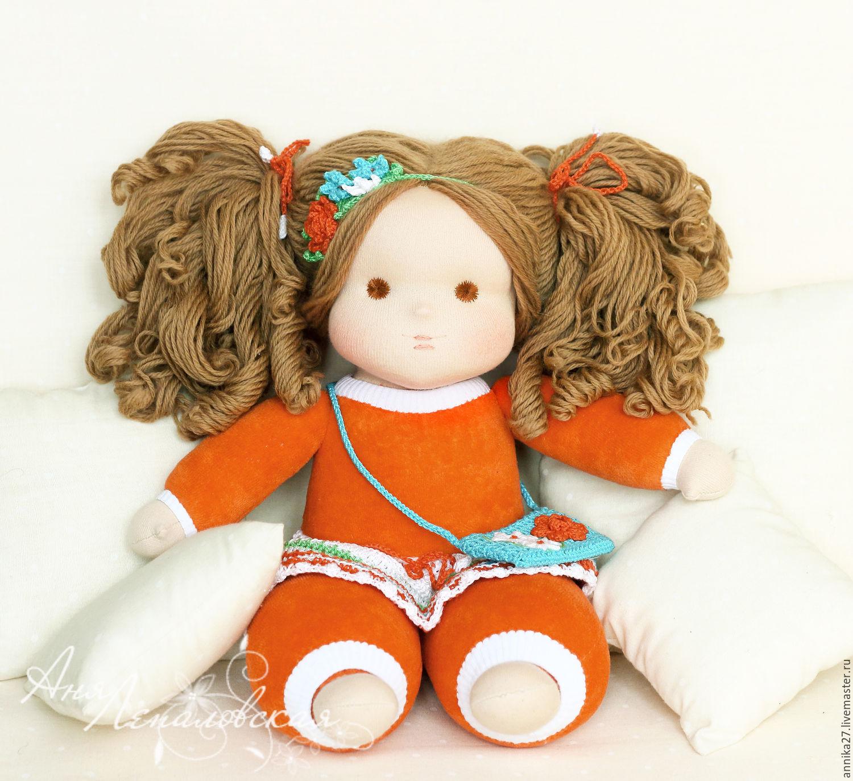 Купить Шармелька Витаминка - шармелька, кукла, вальдорфская кукла, авторская кукла, мягкая кукла
