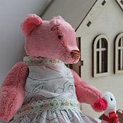 Куклы и игрушки handmade. Livemaster - original item Bear the attendant Agasa and goose Boris. Handmade.