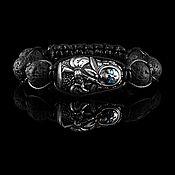 handmade. Livemaster - original item Bracelet Death a la Russe Siberia frost eyes. Handmade.